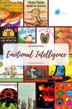 Looking for books to talk to your little ones about their BIG emotions? Check out these 14 picture books to develop emotional intelligence! Social Emotional Development, Toddler Development, Social Emotional Learning, Social Skills, Leadership Development, Preschool Books, Book Activities, Preschool Activities, Emotions Preschool