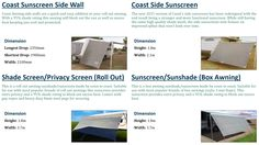 Here are the top 4 caravan Awnings for specially design for your caravan and motorhomes. Caravan RV Parts is Australia`s leading caravan accessories like air & water heater, air conditioners, awnings, bathroom & plumbing etc. We sell 100% genuine products at affordable price. Visit our website www.caravanrvparts.com.au today.