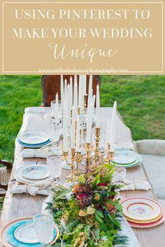 beautiful unique wedding