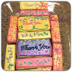 DECORATED COOKIES m