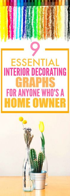 These 9 home decor graphs are SO GOOD! I'm so glad I found this! These have seriously helped me redecorate my rooms and make them look GREAT! Definitely pinning this!