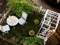 Fairy garden room