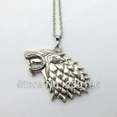 Game of Thrones Lannisters Targaryen Stark Dire Wolf Symbol Necklace Pendant Set  //Price: $US $18.90 & FREE Shipping //     #gameofthrones #gameofthronestour #gameofthronesfamily  #starks