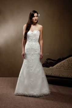 Mia Solano M1229L - Wedding Dress M1229L. View more online at www.PrincessBridalGowns.com.