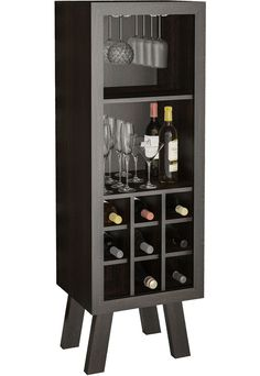 Adega Tecno Mobili AD5000 Tabaco - Marca Tecno Mobili Wine Rack Design, Wine Cellar Design, Liquor Cabinet Furniture, Wine Stand, Wine House, Bar Shelves, Wine Table, Wood Wine Racks, Small Bars