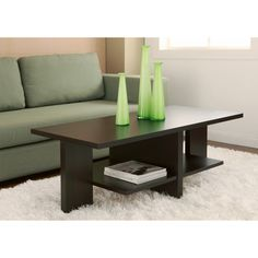 Classic 47-inch Wood Coffee Table | Overstock.com