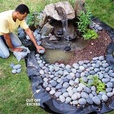 How To Build A Disappearing Garden Fountain