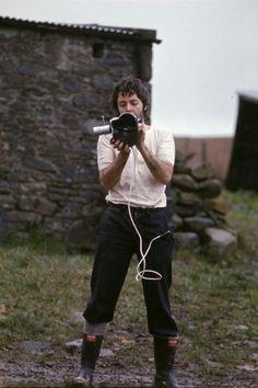 Paul McCartney by Linda on the farm in Campbeltown, Scotland, 1969 Paul Mccartney, Ringo Starr, George Harrison, John Lennon, Linda Eastman, Just Good Friends, Sir Paul, Saddest Songs, Jim Morrison