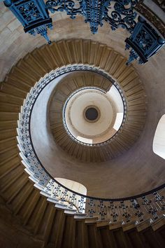 Inge Johnsson via fineartamerica.com. This spiral staircase is a great example of radial balance! The fact that is goes on and on in a circular motion shows that it comes from one point of origin, which is located in the very center. It's very mind boggling, especially if you don't know if this photo was taken from up above or down below!