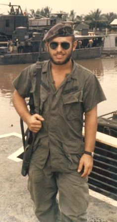 vietnamese navy | this is me in late 1968 at the vietnamese naval base in rach soi which ...