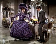 HELLO DOLLY Romantic comedy musical film based on the Broadway… My Fair Lady, Musical Film, Musical Theatre, Drag Clothing, Purple Outfits, Gene Kelly, Movie Costumes, Broadway Costumes, Barbra Streisand