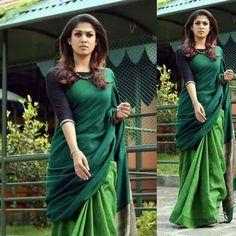 Saree Styles, Blouse Styles, Kerala Saree Blouse Designs, Formal Saree, Fancy Blouse Designs, Saree Look, Saree Dress, India Fashion, Priyanka Chopra