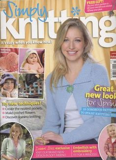 Ravelry: Simply Knitting 12, March 2006