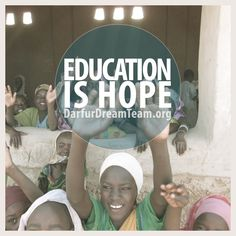 The best gift you can give is the gift of #education! #UnlockHope #EducateGirls #Africa