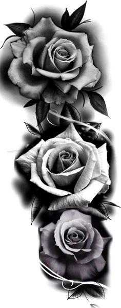baelaehty - 0 results for tattoos 3 Roses Tattoo, Rose Drawing Tattoo, Skull Rose Tattoos, Rose Flower Tattoos, Rose Tattoos For Men, Body Art Tattoos, Sleeve Tattoos, Tattoos For Guys, Clock Tattoo Design