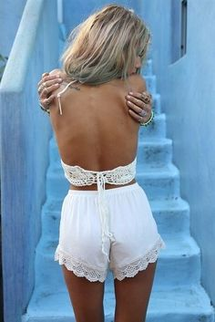 all white everything summer outfits womens fashion clothes style apparel clothing closet ideas