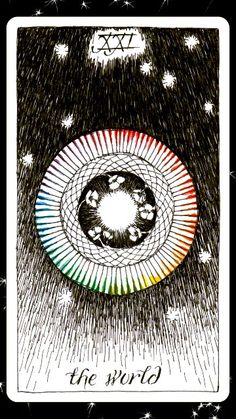 #tarotaffirmation ~ I am complete and whole.~ The World  #affirmations, #wholeness, #theworld, #thewildunknown, #galaxytarot,   #itsnotovertilisayitsover