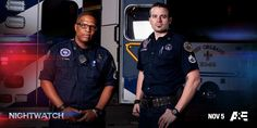 They're #NOLA's heroes of the night. Tune in to a #Nightwatch mini marathon at 12/11c.
