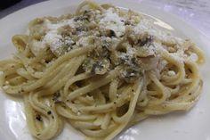 Gingerbread Men- Recipe Blog: Linguini with White Clam Sauce