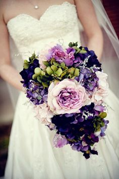 Purple Wedding Ideas - 12 Stunning Wedding Bouquets - 27th Edition - Belle the Magazine . The Wedding Blog For The Sophisticated Bride