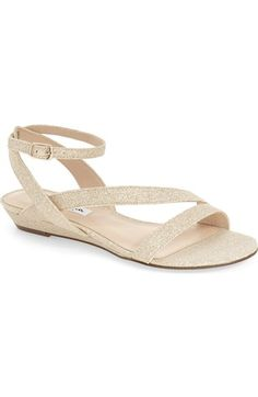 5c9e707d2059 Nina  Kelso  Wedge Sandal (Women) available at  Nordstrom Fall Wedding Shoes