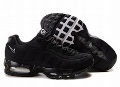 159b4dbb49d Cheap Men s Nike Air Max 95 Shoes All Black 95 Shoes For Sale from official  Nike Shop.