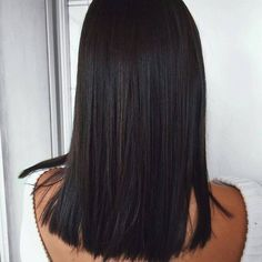 Human Hair Bundles Lace Closure Non Remy Hair Weft Brazilian Straight Hair Weave 3 Bundles With Closure. Are you looking for long black straight hairstyles? See our collection full of long black straight hairstyles and get inspired! Straight Weave Hairstyles, Short Straight Hair, Thin Hair, Medium Length Hair Cuts Straight, Long Bob Cuts, Medium Hair Styles, Curly Hair Styles, Human Hair Extensions, Extensions Shop