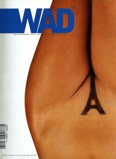 WAD Cover, Photo; SEBASTIEN MEUNIER  PARIS JE T'AIME…