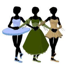Lowbrow Ballet Art #Lowbrow #LowbrowArt #Ballerina #Ballerinas #Ballet