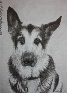 Custom Portrait - Original Artwork - By Mixed Media Artist Malinda Prud'homme $200.00