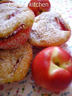 Reteta culinara Briose cu iaurt si nectarine | Bucataras Doughnut, Muffins, Deserts, Recipes, Cakes, Food, Rezepte, Essen, Muffin