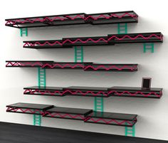 Geek Furniture Donkey Kong Shelves