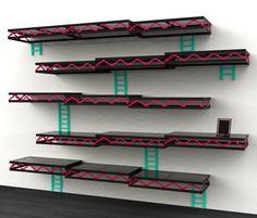 Geek Furniture Donkey Kong Shelves