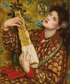 A Christmas Carol Dante Gabriel Rossetti - 1867