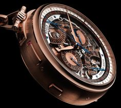 Roger Dubuis Hommage Millesime – an uber chic pocket watch