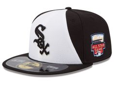 7112c3e577d Chicago White Sox New Era MLB 2014 All Star Game Patch 59FIFTY Cap Hats  Chicago Movie