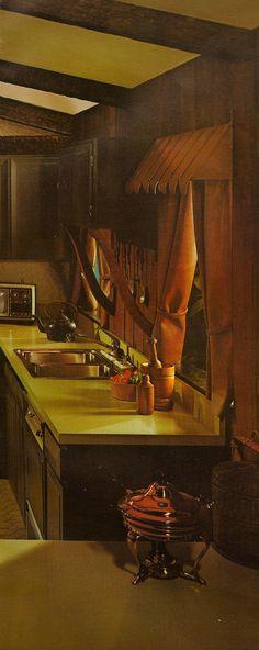 1970s Architectural Digest Kitchen | Katie Kitsch | Flickr