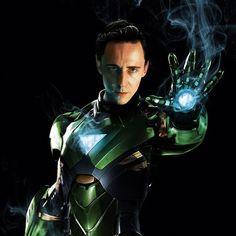 Iron Loki. I kind of really like this..