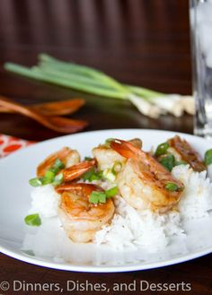 Hoisin Glazed Shrimp #recipe