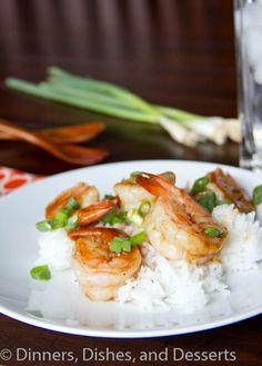 Hoisin Glazed Shrimp #recipe