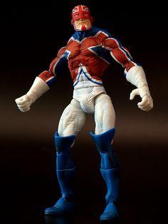 Captain Britain, Marvel Legends, #Marvel #ToyBiz #ActionFigure