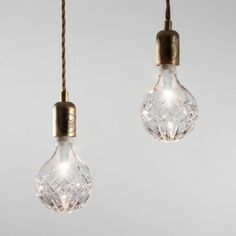 Crystal Light Bulbs...I really like these!!!