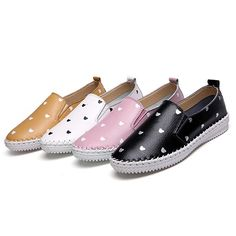 b7a84995971478  19.31 Hot-sale Leather Pattern Cartoon Korean Style Knitting Soft Slip On  Flat Loafers - · Womens ...