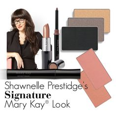 "Introducing Mary Kay Global Makeup Artist Shawnelle Prestidge. From the moment she discovered her mother's ""electric blue"" eye crayon collection, Shawnelle was in love with color. Click through to learn more about Shawnelle and her signature Mary Kay look!"