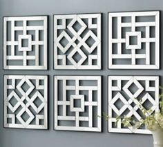 Arabesque Mirrors Fretwork by SukarDecor on Etsy