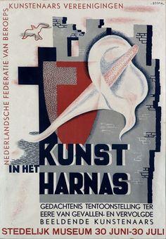 Kunst in het harnas - by Wim Bosma - at Stedelijk Museum Amsterdam