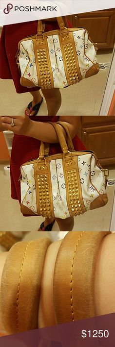 AUTHENTIC Louis Vuitton Courtney multi color Limited Edition, Im selling my bags, my collections, Need some room for more! Girls cant never have enough bags as my husband says! Lol:)), happy shopping, thanks for visiting my closet!:)) Bags Shoulder Bags