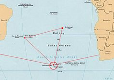 Tristan da Cunha : The Most Remote Place on Earth Saint Helena Island, St Helena, Atlantic Ocean, West Africa, People Around The World, That Way, Remote, Earth, Places