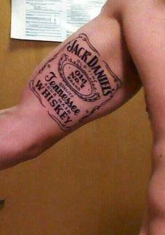 Jack Daniel's Tattoo