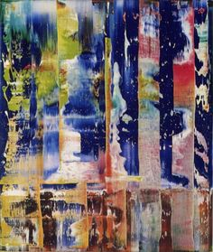 Gerhard Richter » Art » Paintings » Abstracts » Abstract Painting » 782-1